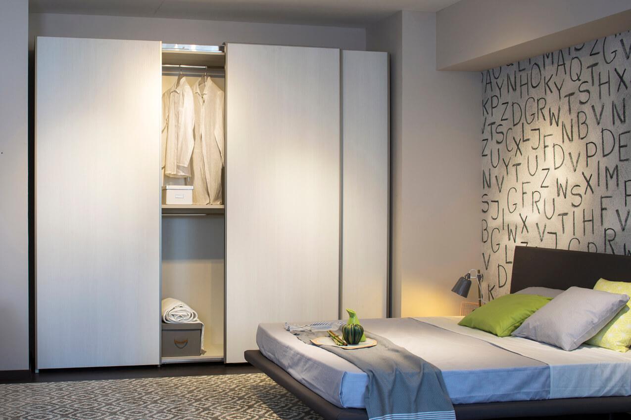 alteo armadio scorrevole lusso accessibile arreda la notte